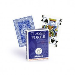 Cartes Poker 100/100 Plastique