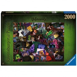 Puzzle Villainous 2000p :...