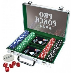 Poker Game Set 200 Chips
